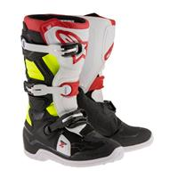 Alpinestars Tech 7s Junior Sort/Hvit/Rød/Fluo