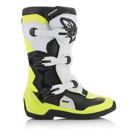 Alpinestars Tech 3S Junior Svart/Hvit/Flou Gul