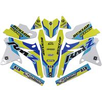 FLU DESIGNS INC. Dekalsett GRAPHIC P4 RMZ450 08-17