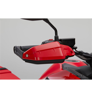 Honda Knuckle Guard Extensions Handguards - Power Red (R-280R)