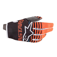 Alpinestars Radar Hansker S Antracit/Orange Fluo