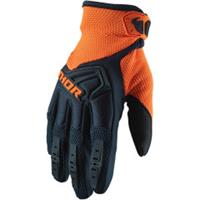 Thor Spectrum S20 Offroad Hansker Midnight/Orange