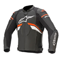 Alpinestars GP Plus R V3 Skinnjakke Sort/Rødfluo
