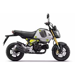 Honda MSX125 GROM 2021  Force Silver Met allic