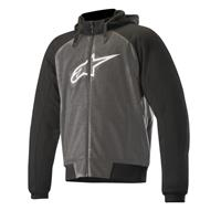 Alpinestars Chrome hettegenser 4XL Antracit/Svart