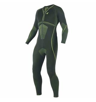 Dainese D-Core Dry Suit Sort /Fluo-gul