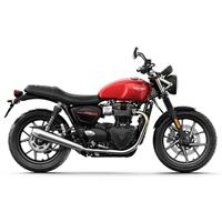 Triumph Street Twin 2019 Korosi Red