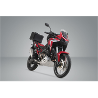 Sw-Motech TRAX ADV top case system Black. Honda CRF1100L Africa Twin (19-)