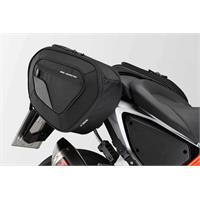 Sw-Motech BLAZE H saddlebag set Black/Grey. KTM 690 Duke / R (11-).