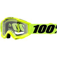 100% Accuri Fluo Gul Jr Klart glass