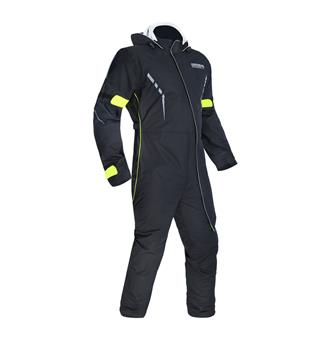 Oxford Stormseal Regndress/Over Suit Svart/Fluo
