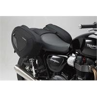 Sw-Motech BLAZE H saddlebag set Black/Grey. Thruxton,Bonne/T100/120,Stre