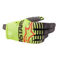 Alpinestars Junior Radar Hansker L Gul Fluo/Antracit