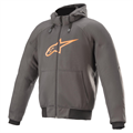 Alpinestars Hoodie Chrome Grå/Orange