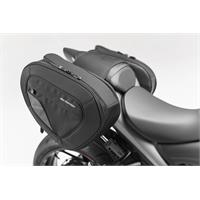 Sw-Motech BLAZE H saddlebag set Black/Grey. Suzuki GSX-S1000 / GSX-S1000